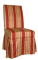 Parsons chair slipcover